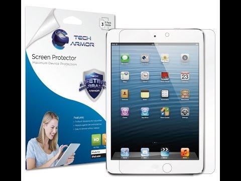 Techarmor iPad Mini Installation Video
