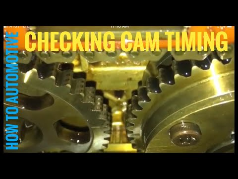 How to Check Cam Timing on a 2004 Honda CR-V 2.4 L Engine