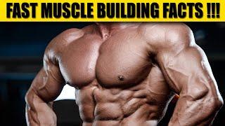 Fast Muscle Building  फैक्ट जिनके बारे में आपको पता होना चाहिए  - Muscle Building Facts !!!