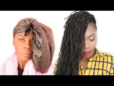 DIY Hair Treatment for Damaged (Locs) Hair/Jungle Barbie