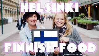 Americans Try Finnish FOoD! 🇫🇮 - Helsinki Finnish Food Tasting & Culture!