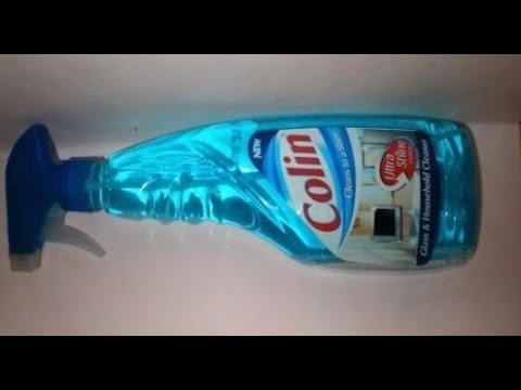 Colin Glass Cleaner Pump 2X More Shine with shine Boosters - 500ml
