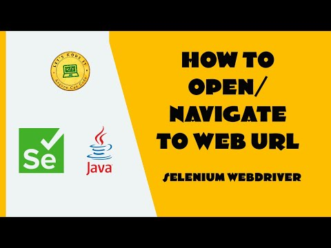 Selenium WebDriver Tutorial - How to navigate between web pages