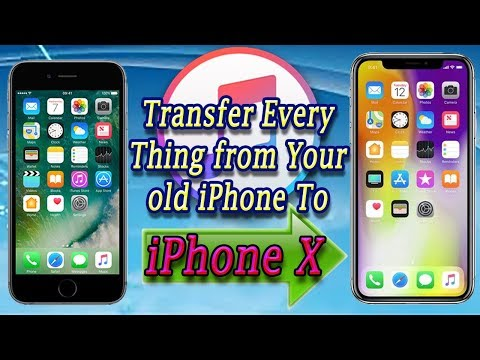 How To Restore iPhone X From old iPhone Backup | with iTunes