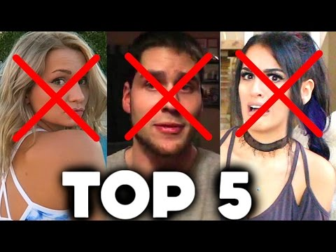 Top 5 Gamers REJECTED by YouTube Rewind 2016 (Sssniperwolf, Zoie Burgher, DanTDM, PopularMMOS)