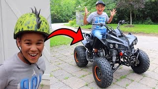 FamousTubeKIDS Surprised with a New ATV!