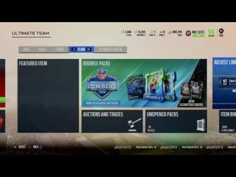 Game   Changer Bundle Best Pull All year, New FlashBacks , Veteran Players Madden 18 Ultimate Team