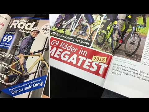 Jetzt im Handel! aktiv Radfahren mit großem Megatest 2018!