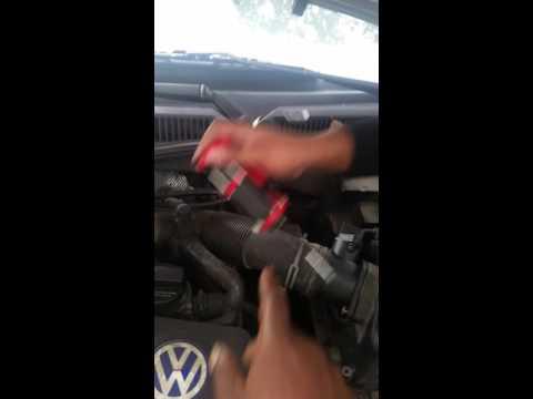02 Volkswagen jetta 2.0 mass airflow replacement