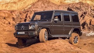 New Mercedes-Benz G-Class 2019 maintains the classic touches that keeps the old character.