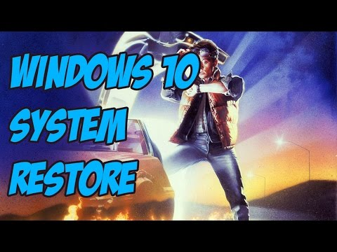 How to Setup System Restore in Windows 10 - Restore Windows 10 to a working point.