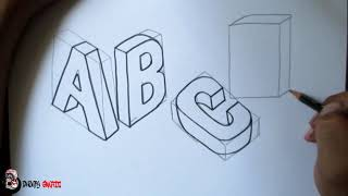 Graffiti Abjad Letter V Dhompy Graffiti