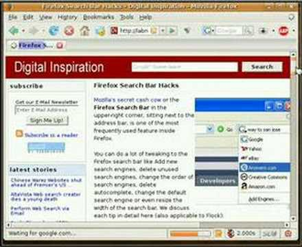 Resize Firefox Search Box