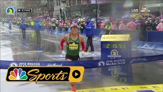 2018 Boston Marathon: Japan's Yuki Kawauchi wins men