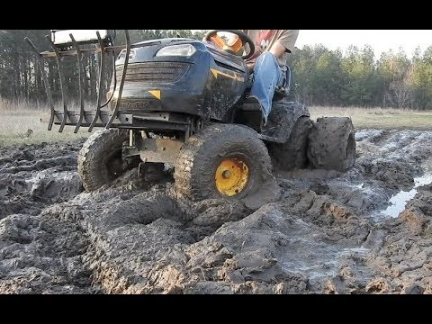 Making a Mud Pit in the Front Yard