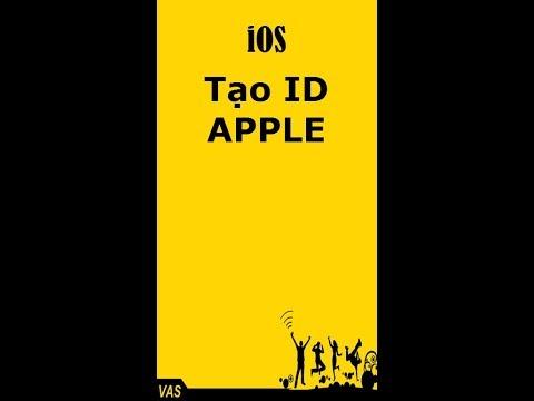 Hướng dẫn tạo ID APPLE miễn phí không sợ dính iCloud