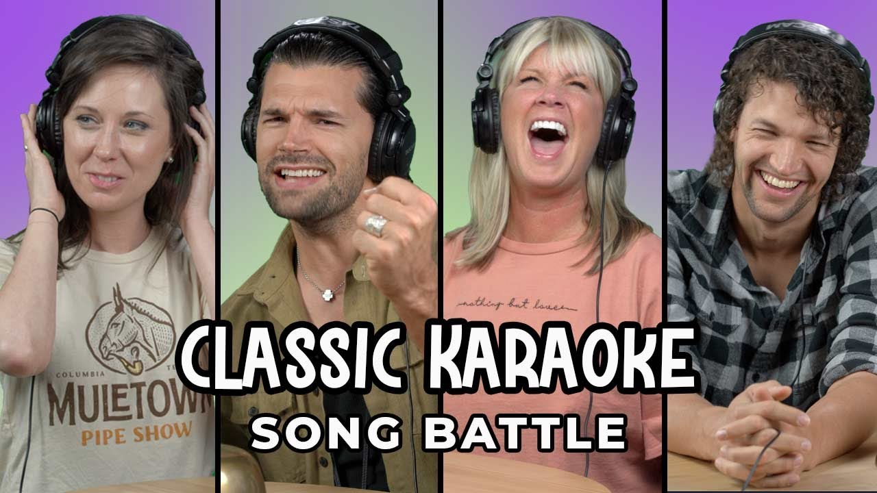 For King & Country and Natalie Grant Sing and Guess Karaoke Songs   Song Battle