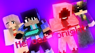 ♪ Falling - (Heroes Series Minecraft Animation Music Video