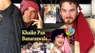 Khaike Pan Banaraswala   Don 1978 Big B   Song REACTION!