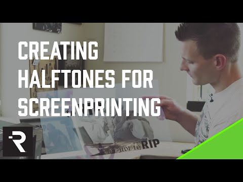 Creating Halftones for Screen Printing - To Rip, Or Not To Rip?