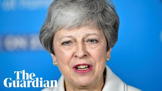 Theresa May blames Labour divisions for collapse of Brexit talks