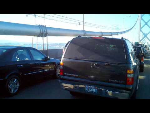 San Francisco Bay Bridge Traffic Stopped By Gunman