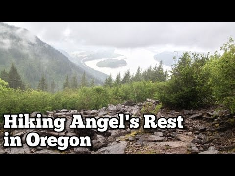 Hiking Angels Rest Trail in Oregon - Adventure Strong