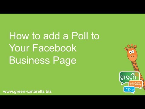 How to Add a Poll to Your Facebook Page