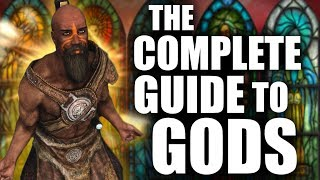 The COMPLETE Guide to GODS in the Elder Scrolls - Elder Scrolls Lore