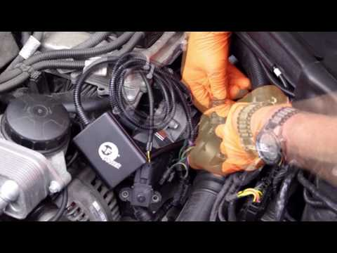Installing an aFe Power Scorcher Tuner on a BMW Turbo Engine