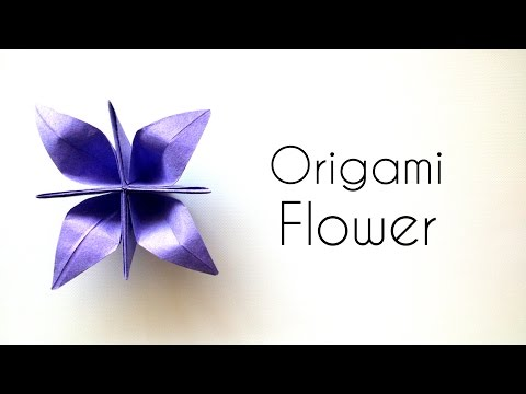 Origami Flower Tutorial - beautiful Paper Flower