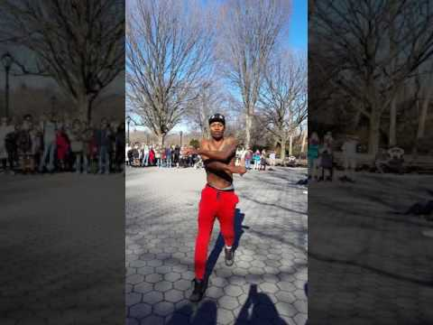 Street show- dancers NYC  Central Park