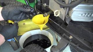 John Deere EZ change oil filter conversion - PakVim net HD