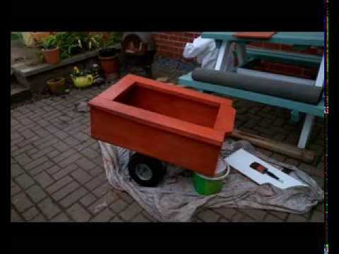 How To Build Your Own Push Bike Trailer Out Of A Pallet