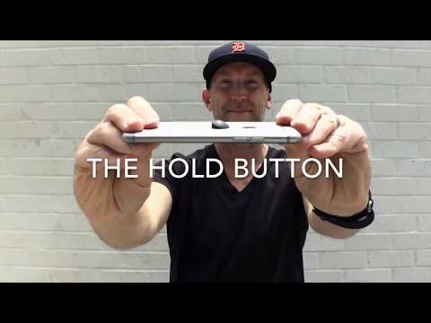 The Hold Button - World's Smallest Phone Grip