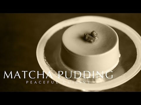[No Music] How to Make Matcha Pudding