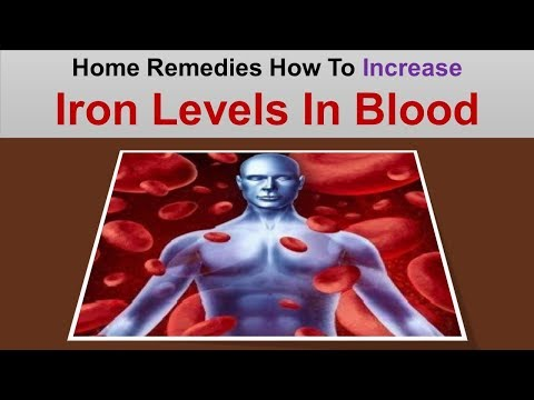 How To Increase Iron Levels In Blood With Home Remedies