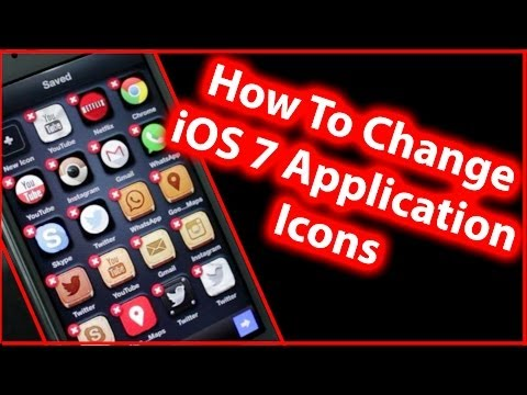 How To Change iOS 7 App Icon Design - iPhone 5s/5c/5, iPad and iPod Touch (No Jailbreak)