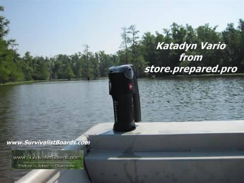 Survival Gear - Katadyn vario water filter overview