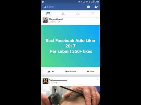 Faster Facebook Auto Liker | Kurd-Liker Mobile Tutorial For Users 2017