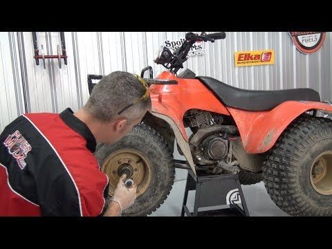 Replacing ATV wheel bearings, PowerModz!