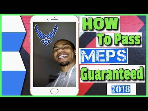 MEPS experience 2017-2018 Hotel: How to pass MEPS Basic training Joining the Air Force [MUST WATCH]