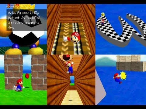 Super Mario 64 Custom Level Hack (Generic Test Level)