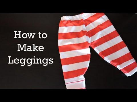 How to Make Baby Leggings