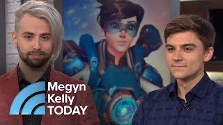 Meet 2 Kids Who Get PAID To Play Video Games, $50,000 Minimum!   Megyn Kelly TODAY