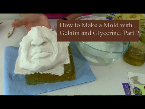 How To Make A Mold With Gelatin And Glycerine, Part 2 1