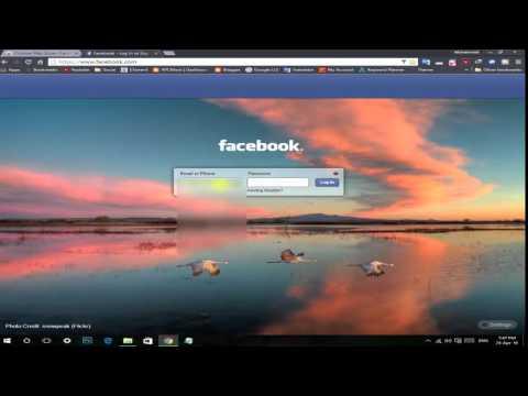 Change #Facebook Login Screen Background | XPCMasti