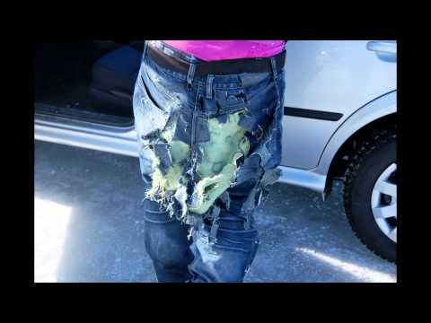 Draggin Jeans: Motorcycle Crash With Draggin Jeans | Kevlar Jeans @ GetGeared.co.uk