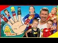 Download Sing-a-long Finger Family with Superheros | Live Nursery Rhymes | The Mik Maks MP3,3GP,MP4