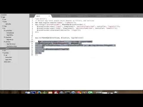 Part 2 : Simple session with angularjs and php, angularJs